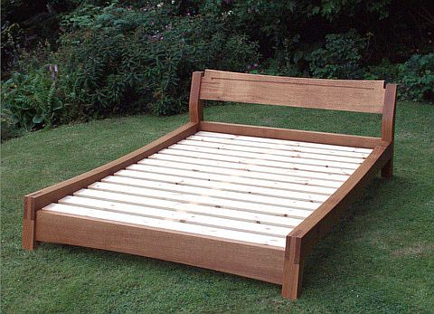 Low Double Bed.