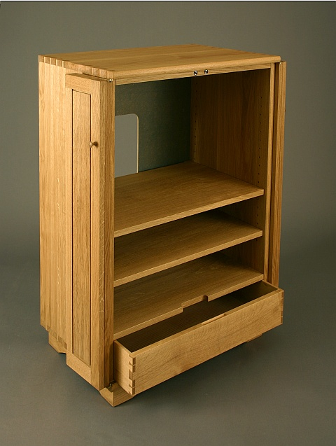 Large Cabinet With Folding Double Doors